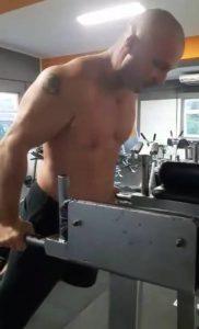 Mellizom edzés, tolódzkodás